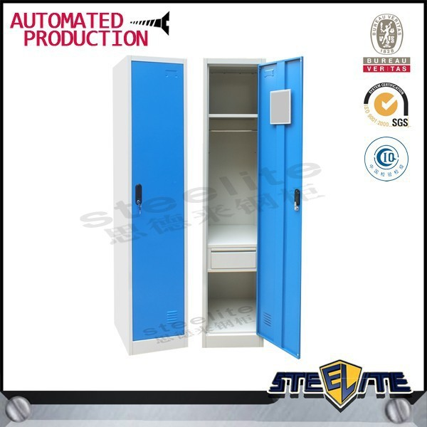 Clothes Cabinet Small Single Door Metal Cabinet Tall Thin Storage