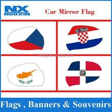 croatia car flag cover mirror,red white checkered flag mirror cover,croatia car cover flag