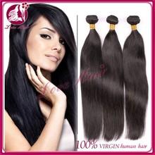 On sale peruvian virgin hair straight ,7A peruvian virgin hair bundle deals 3pcs/lot human hair extensions fast shipping