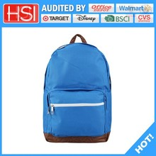 audited factory wholesale price kindergarten children cotton school bag
