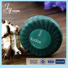 cheap wholesale round disposable hotel soap with delicate packing