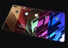 for iphone 5s colorful tempered glass film,glass screen protectors for mobile phone,color screen film for iphone