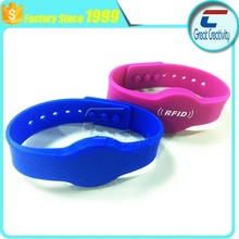 Compatable Wristband Rfid 13.56mhz Adult Size low cost