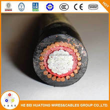 low voltage Power types of underground cables