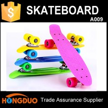 Outdoor sports equipment plastic banana skate board