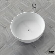 centro posizione di scarico vasca tonda idromassaggio