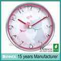 """8"""" gato de metal reloj de pared de recuerdos de la boda/personalizar digital reloj de pared/souvenirs de boda"""