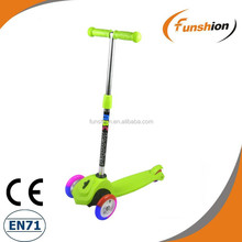 push pedal 3 wheel scooter car/hot wheels kick scooter