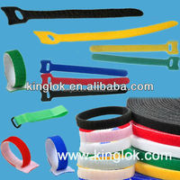 High Quality Logo Printed Magic cable ties plastic Magic cable wrap