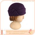La moda de invierno sombrero del ganchillo, beanie sombrero de la mujer