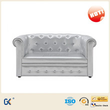 Leather child chesterfield sofa