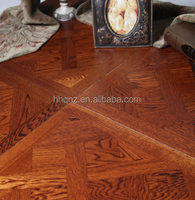Oakwood Solid Oak Engineered Flooring Parquet AB grade Matt Lacquered Finish
