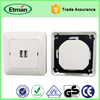 European Universal Wall Socket USB AC Charger
