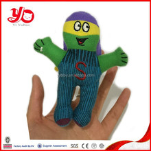 China hot sell plush toys,stuffed toy finger puppet doll