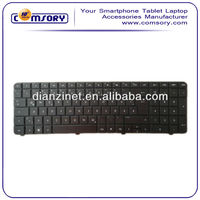 New Arrived Notebook Replace Keyboards for HP series CQ72 English Black Keyboard