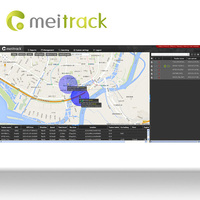 Meitrack spy cell phone GPS Tracking software with Android style UI design Customization accepted MS03
