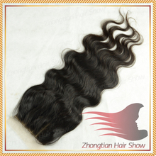 In Stock Brazilian Hair Body Wave Silk Base Lace Closure