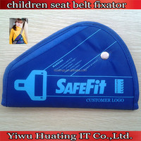 customer logo car children safety belt fixator seat belt extender