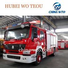 Sinotruk HOWO 15000 liters size of fire truck for sale