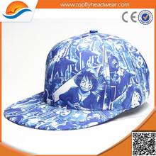 Sports Direct Wholesale OEM Custom Cotton Digital Printing Hip Hop Cap