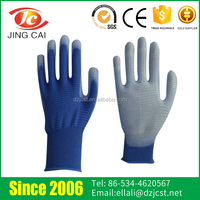Excellent Flexibility Anti-static Multicolor PU Coating Working Gloves