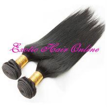 Exotichair ponytail hair bands human hair hair weft