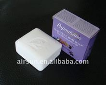 Zebra paperl soap with lavender oil and olive