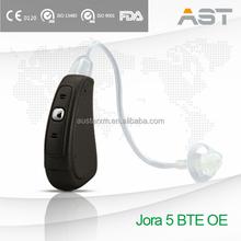 Advanced wax guard system Comfortable Hearing Aid BTE OE