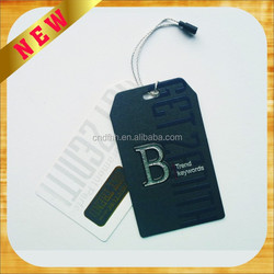 Newly fashion hot selling hang tags for clothing