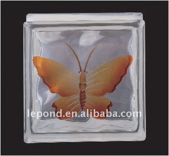 Decorativa tijolo de vidro / colorido blocos de vidro