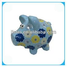 Pottery Pig Money Box /Money Saving Box /Piggy Bank