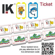 Lk 2015 neues design Kinokarte/custom Tickets zu verkaufen