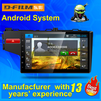 2 din android autoradio player with gps navigation for honda fit, Chinese manufacturer of car DVD player