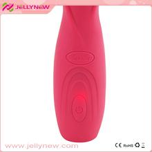 Jnv-003 mujer vibradores juguetes íntimos facial vibradores ligeramente curvada punta a estimular el punto G y de la próstata