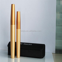 Cheap Cosmetic Wholesale gold mascara tube glamorous eyelashes
