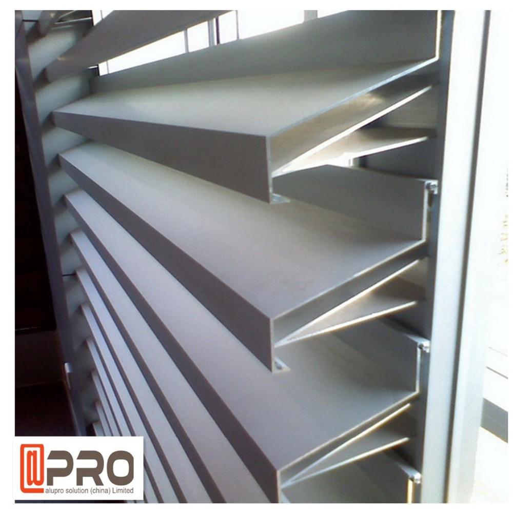 Exterior Aluminum Louver Doors 1000 x 1000