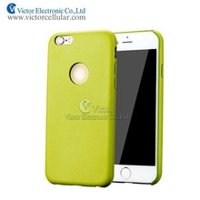 Mobile Phone Case For Iphone6 Super Thin TPU Leather Case Back Cover for Iphone6