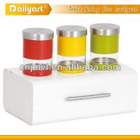 3pcs excellent quality colorful canister set
