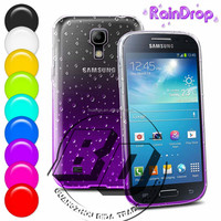 Top Selling Durable Raindrops Gradient Protective TPU Soft Case For Samsung Galaxy S4 mini fast delivery