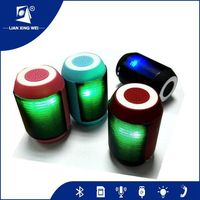Music Speaker, Super Bass Bluetooth MP3 Speaker box, Music Mini Bluetooth Speaker with LED Light
