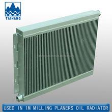 Universal oil all aluminum radiator for wholesale , air radiator with aluminum plate fin radiator,,air water intercooler
