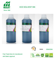 direct buy from china ink manufacturer eco-solvent ink good dye printing ink for epson r800 1800