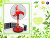 hot sale 16'' table fan 12v dc rechargeable electric fan with battery