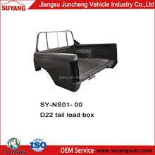 Double Cabin Nissan D22/Frontier Cargo Box/Tail Load Box Pickup 4x4