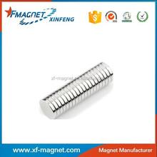 Small Disc Magent Zinc Coating Overstock Sales