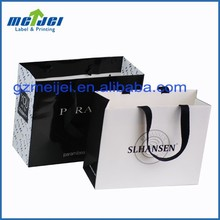 white small paper bags with handle suppliers