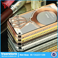 Good design beautiful mobile phone cover for iPhone case diamond bling phone case cover
