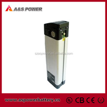 Rechargeable 10ah 36v lithium ion battery pack for ebike with charger