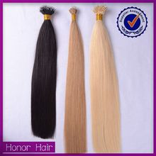 Fashionable high quality silk and smooth nano ring aliexpress hair brazilian hair