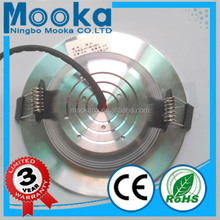warm White Color Temperature(CCT) and Aluminum Lamp Body Material indoor led downlight